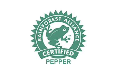 Rainforest Alliance Certificated